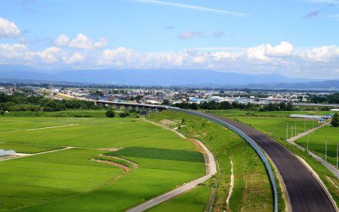 【米沢市】東北中央自動車道(福島~米沢間)が開通