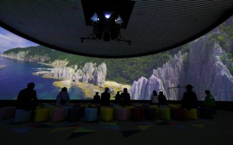 【青森市】青森県観光物産館アスパム「青い森ホール」がリニューアル!
