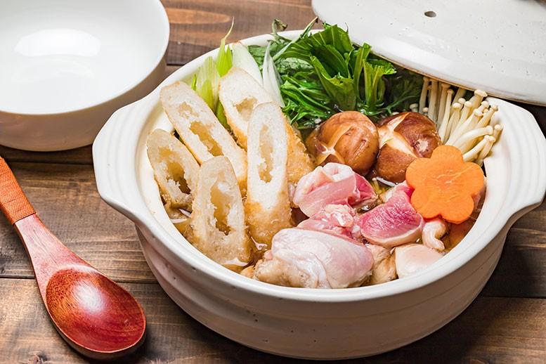 秋田の郷土料理 きりたんぽ鍋