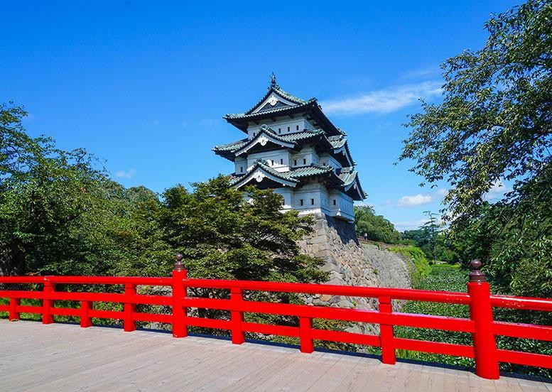 青森県の歴史と風土 弘前城
