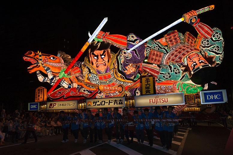 青森県の祭り 青森ねぶた祭
