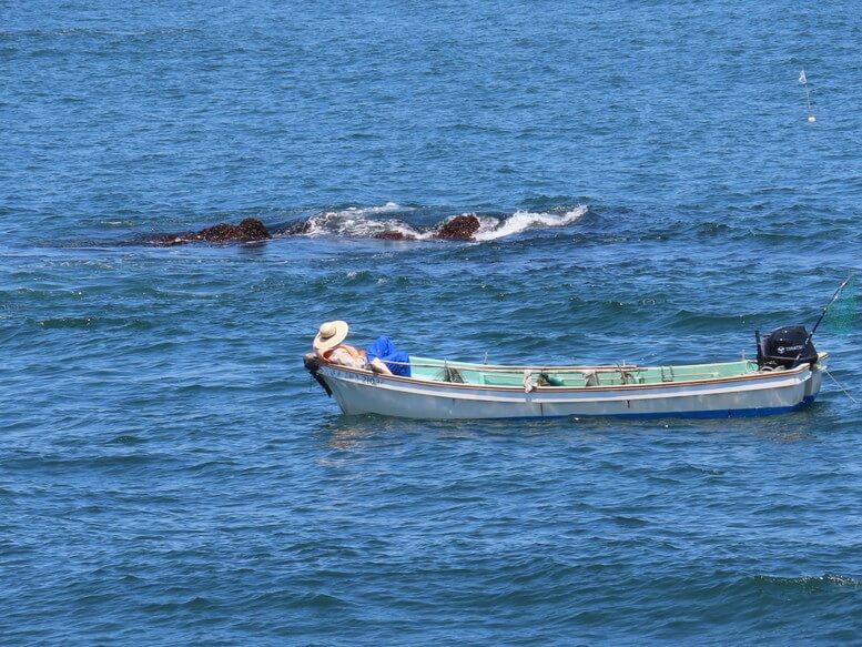 青森県八戸市 三陸ジオパーク みちのく潮風トレイル 漁師