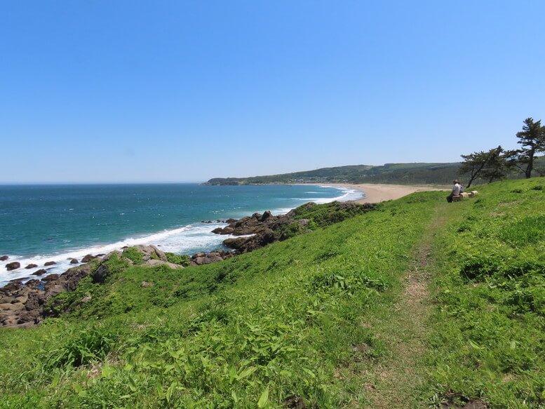 青森県八戸市 三陸ジオパーク みちのく潮風トレイル 大須賀海岸